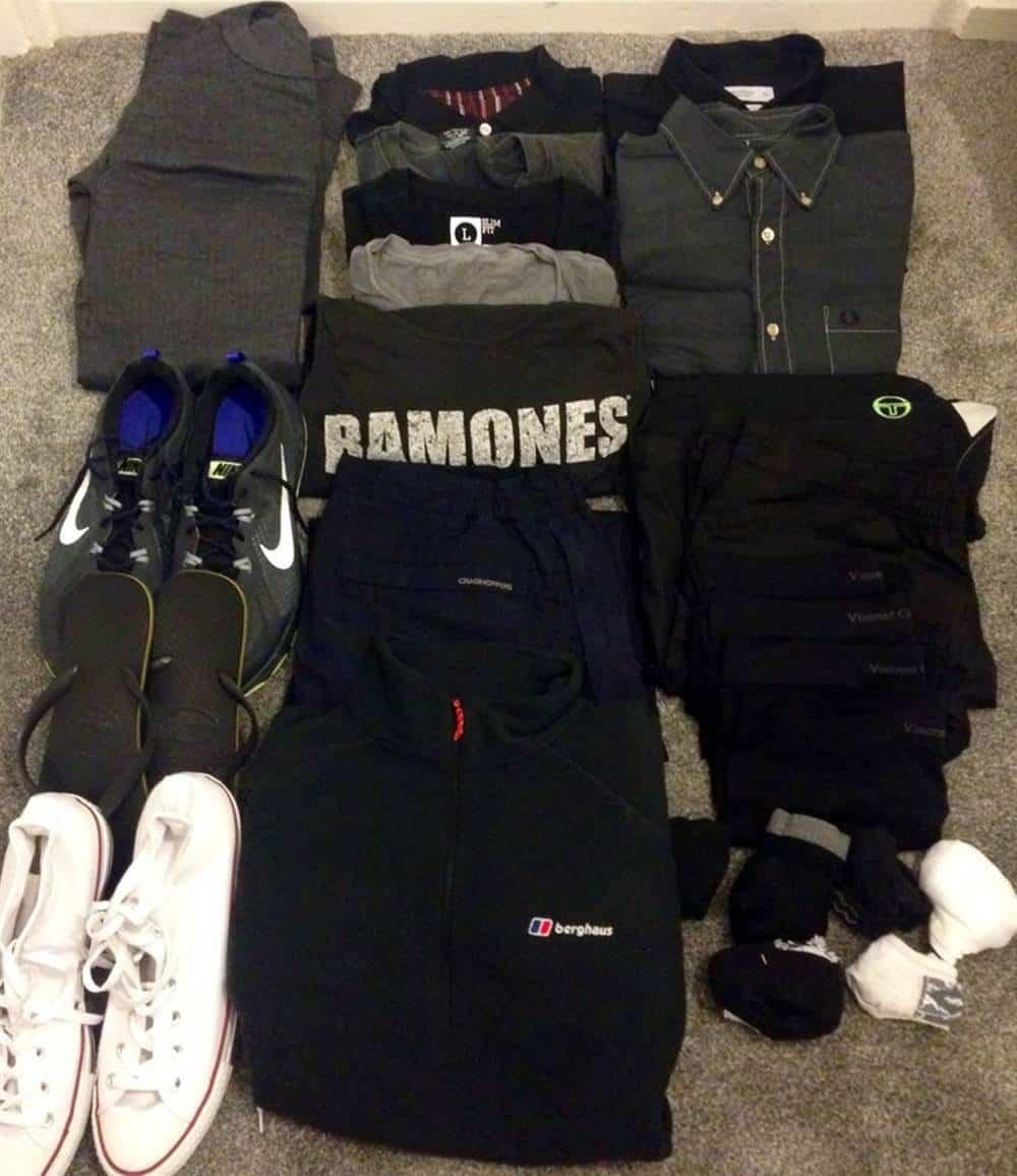 James' clothes