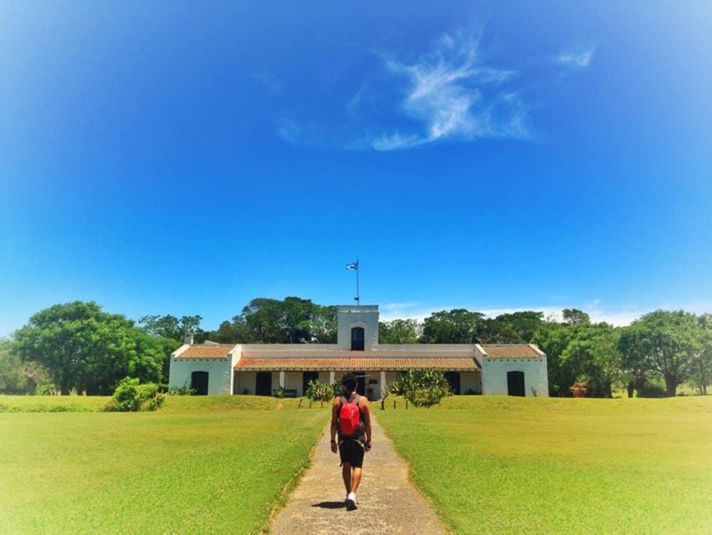 entrance to the estancia