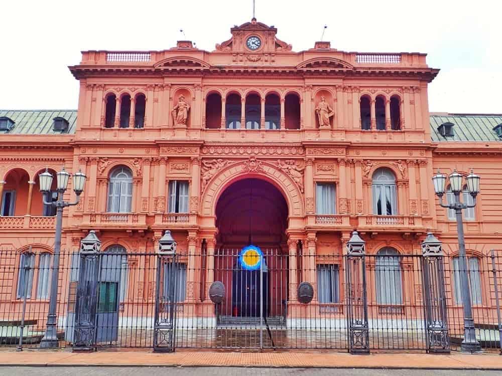 Casa Rosada - the pink house