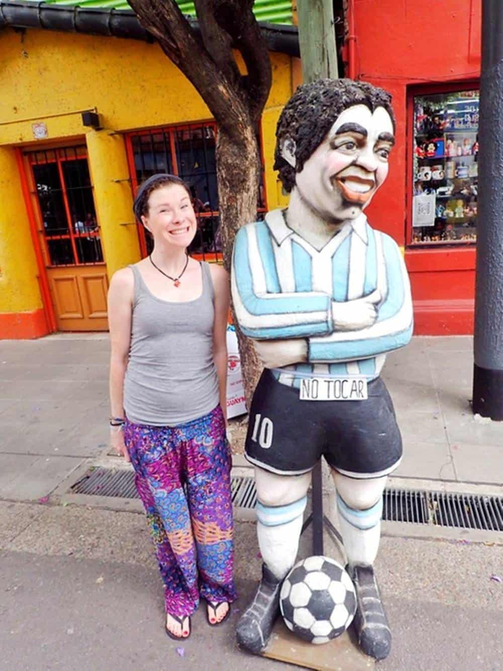 Sarah and Maradona