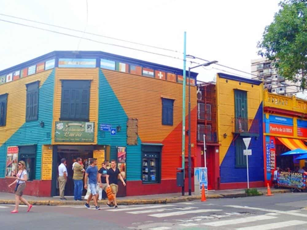 colorful house on the street