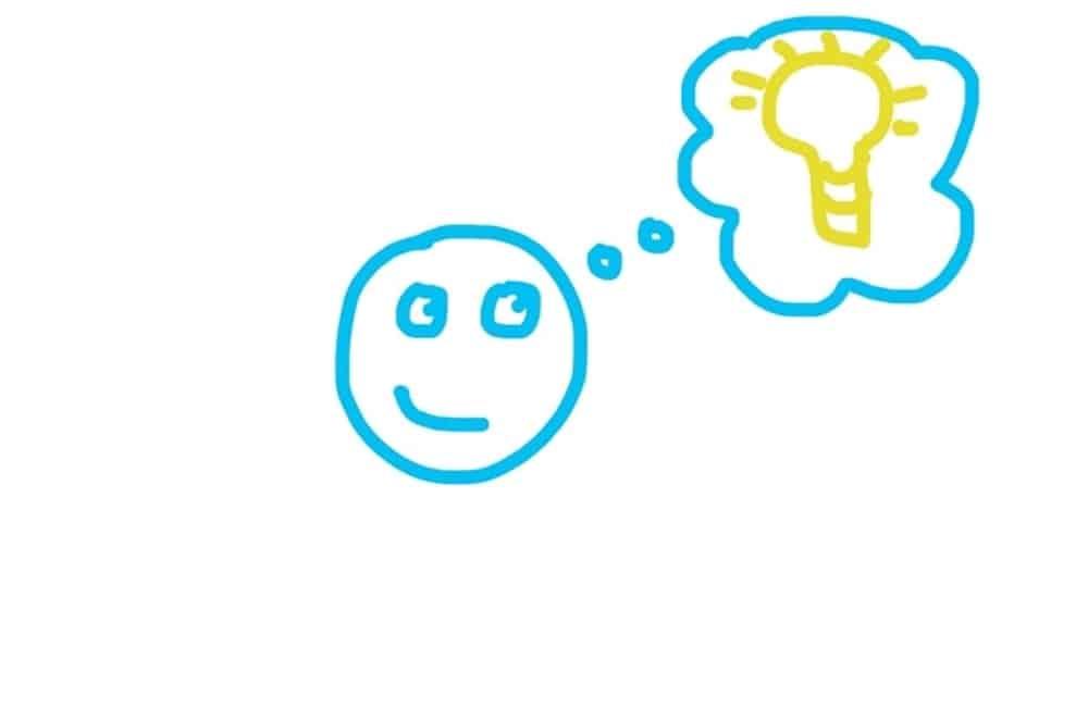 stickman bright idea
