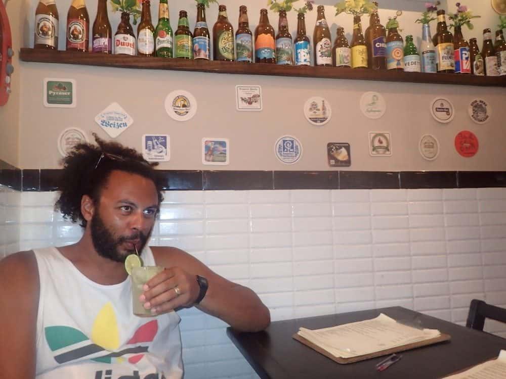 James - One last Caipi in Brasil