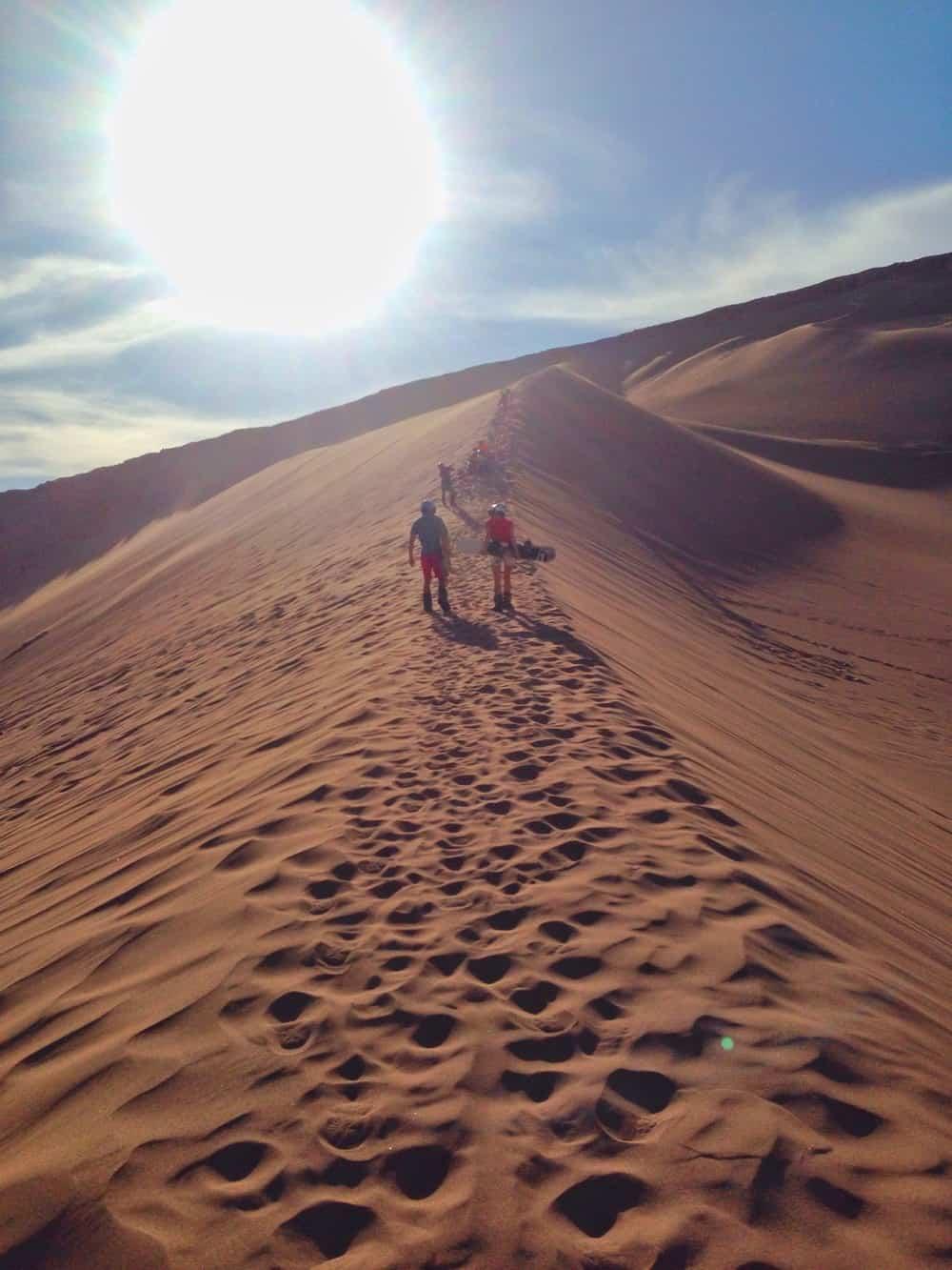 dunes in the heat