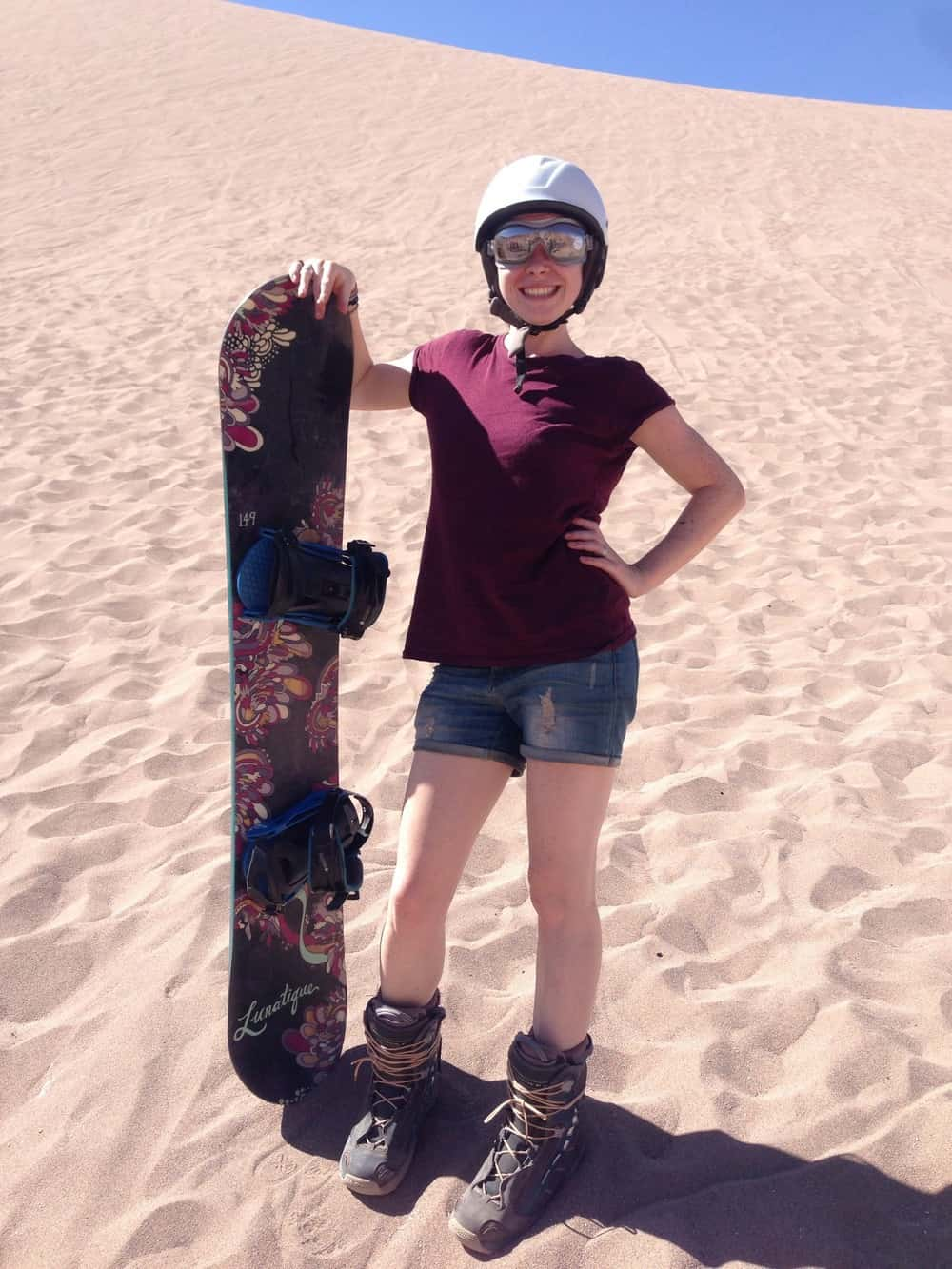 sarah - sand dunes