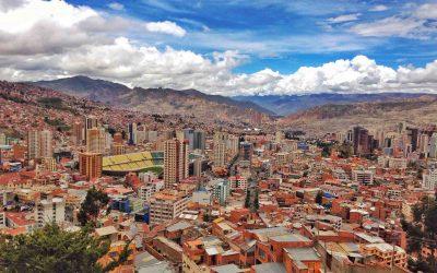 View from Killa Killa La Paz