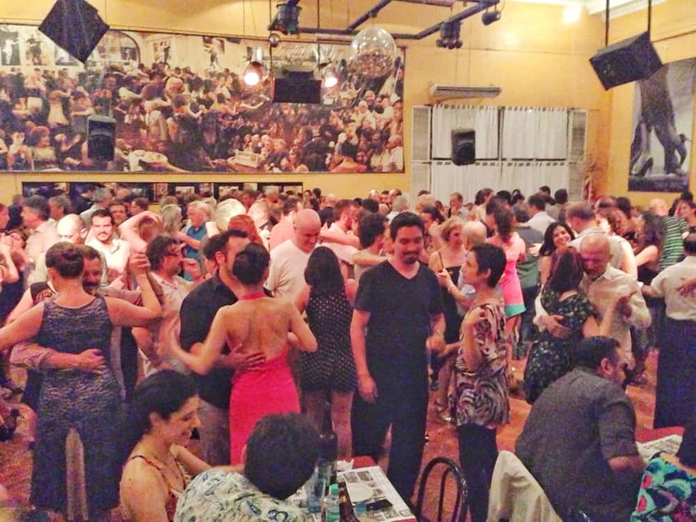 milonga in full swing