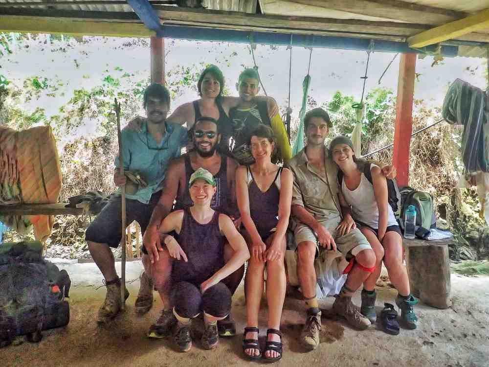 Lost City trekking group