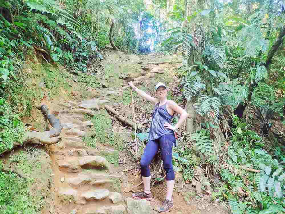 Steps to Lost City