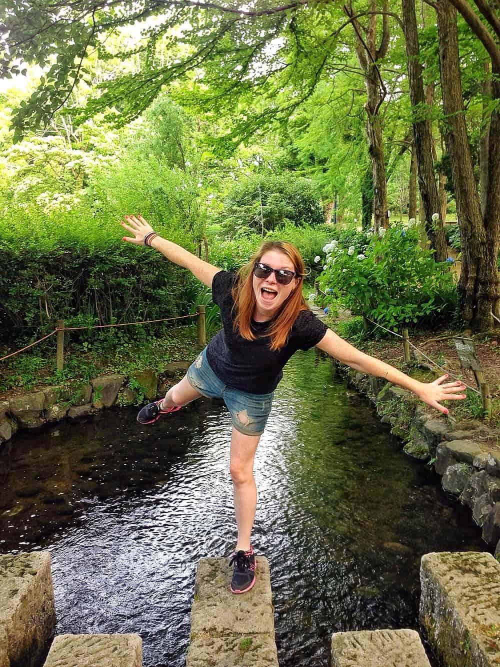 Sarah - happy