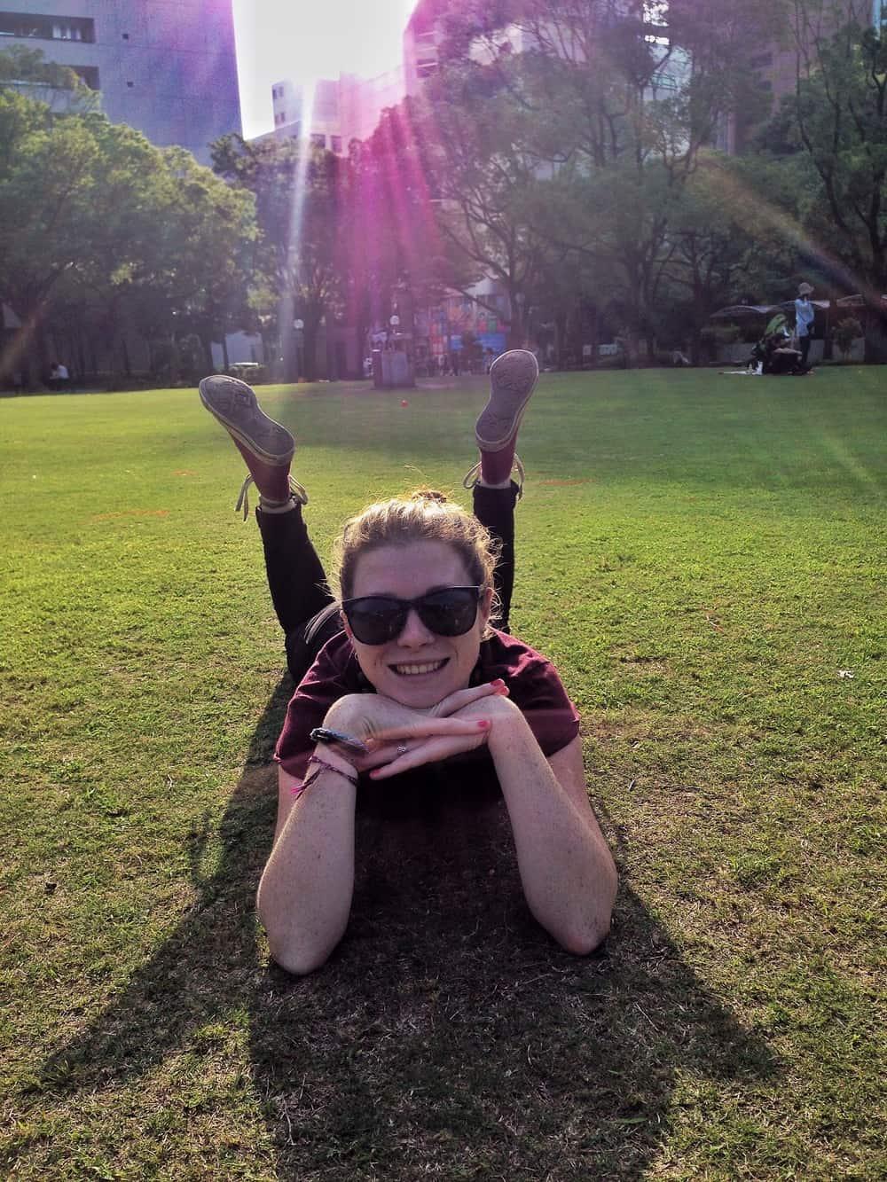 Sarah on the park