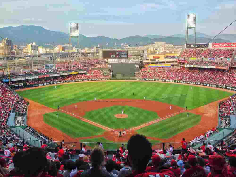 baseball field japan
