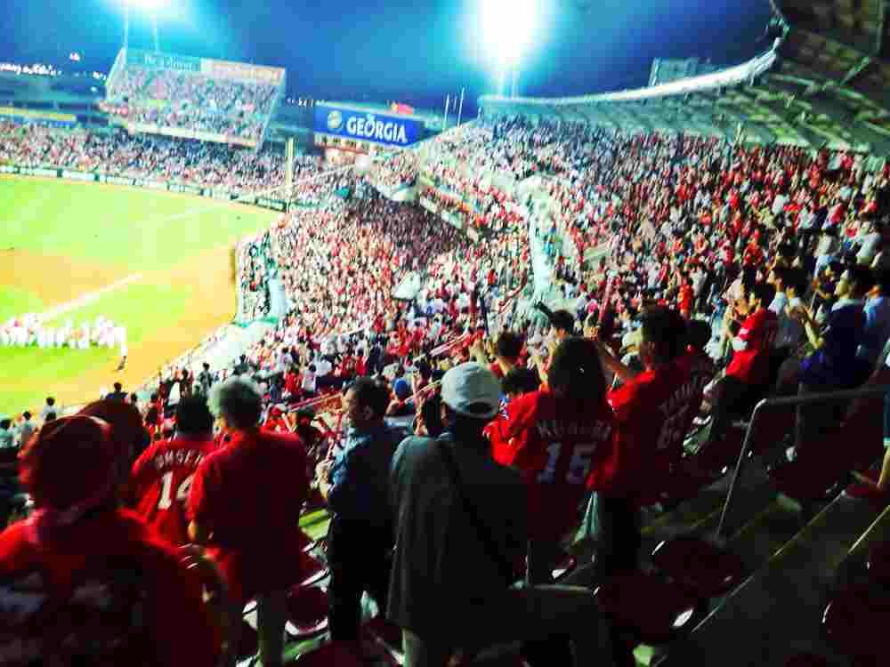 baseball stadium japan