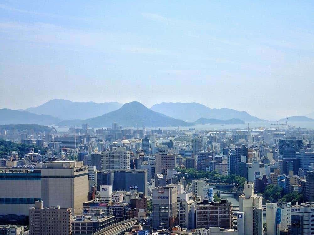 Hiroshima from up high