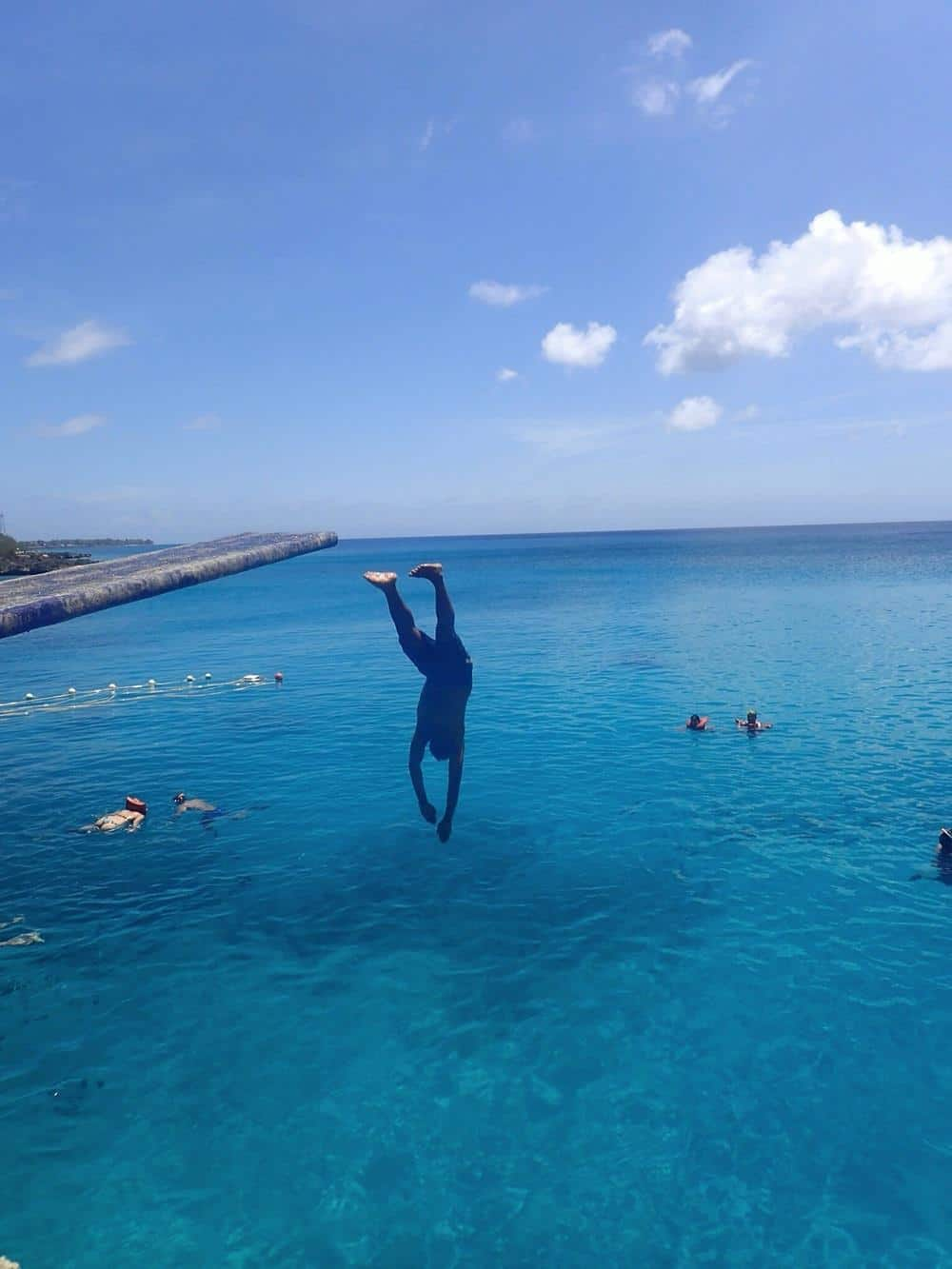 West view point - James diving