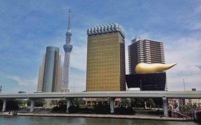 Tokyo skyline buildings