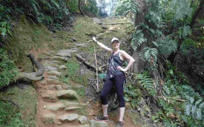 Sarah on Lost City Trek Colombia