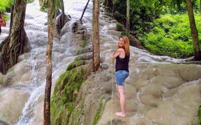 Sticky Waterfalls Chiang Mai