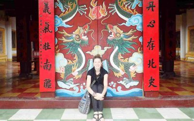 Sarah in Hoi An Vietnam
