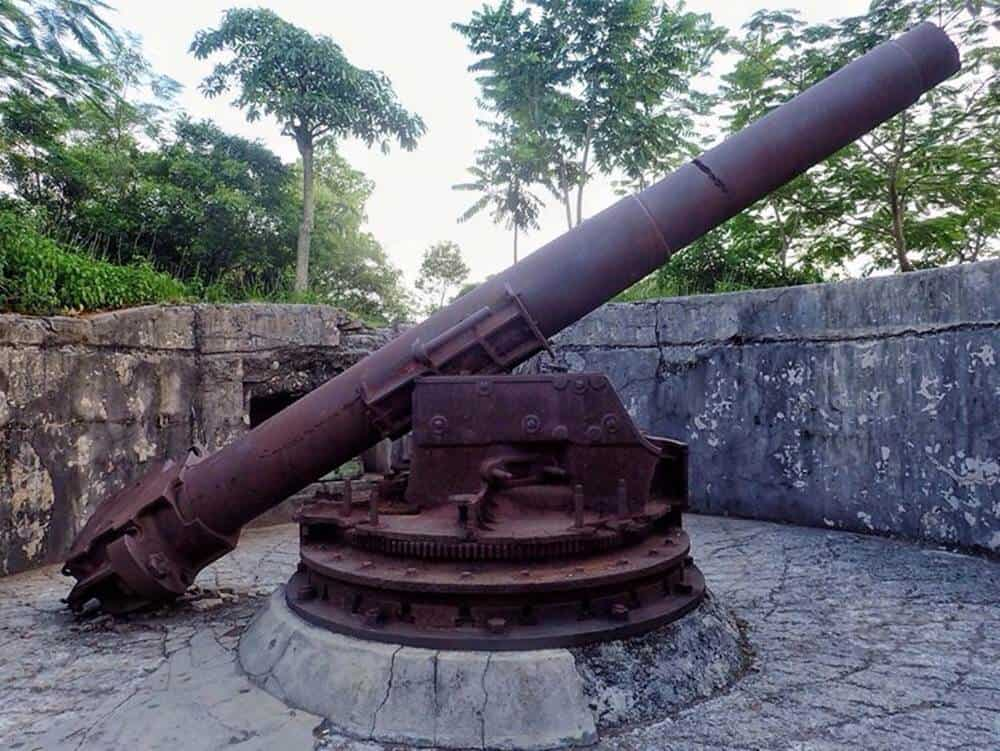 Cannon at Fort Cannon
