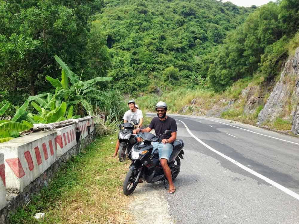 Motorbike rental on Cat Ba Island Vietnam