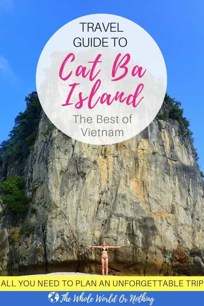 Travel Guide To Cat Ba Island Vietnam PIN