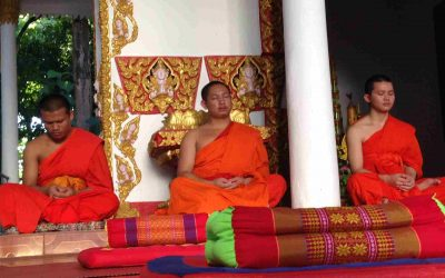 Wat Sok Pa Luang - Monks, Massage and Meditation in Vientiane Banner