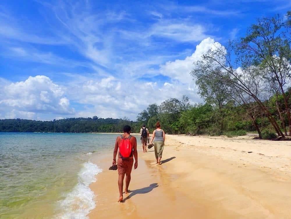 Cambodian island life