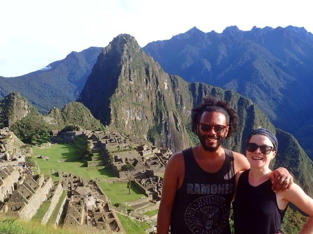 James and Sarah at Machu Picchu