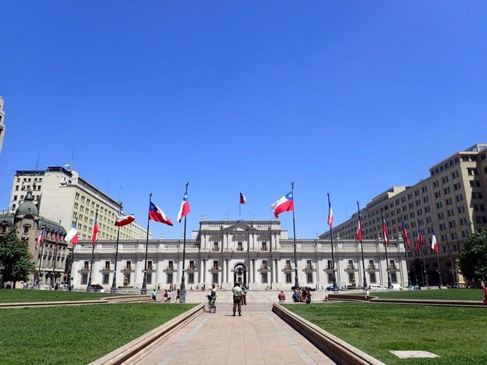 Palacios de Moneda Santiago