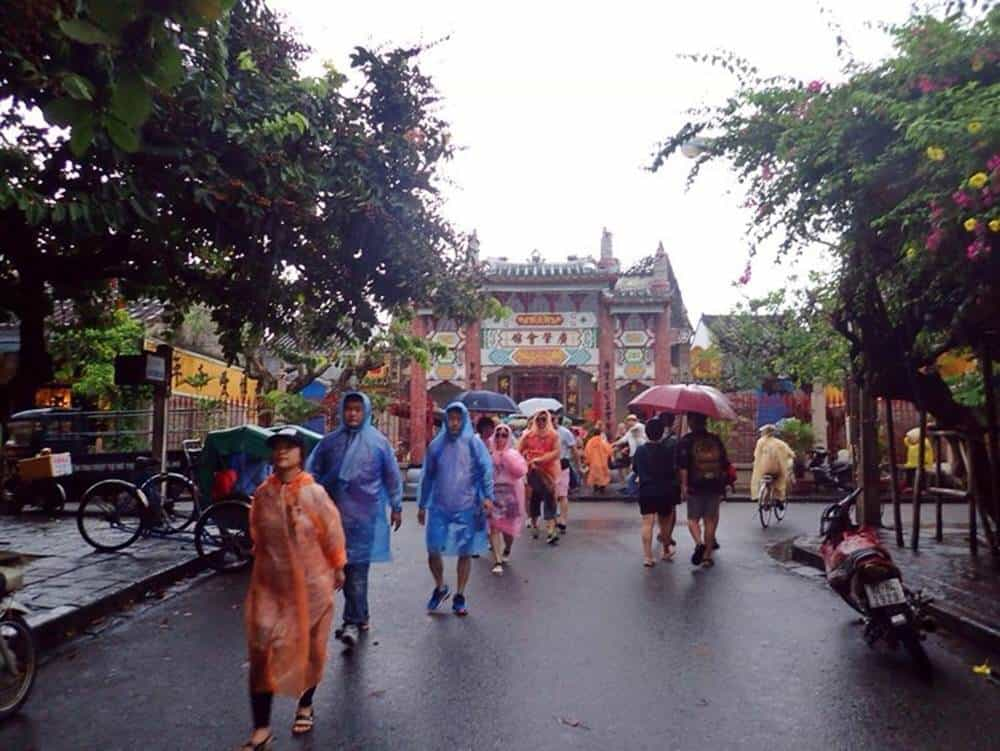 Rainy days in Hoi An