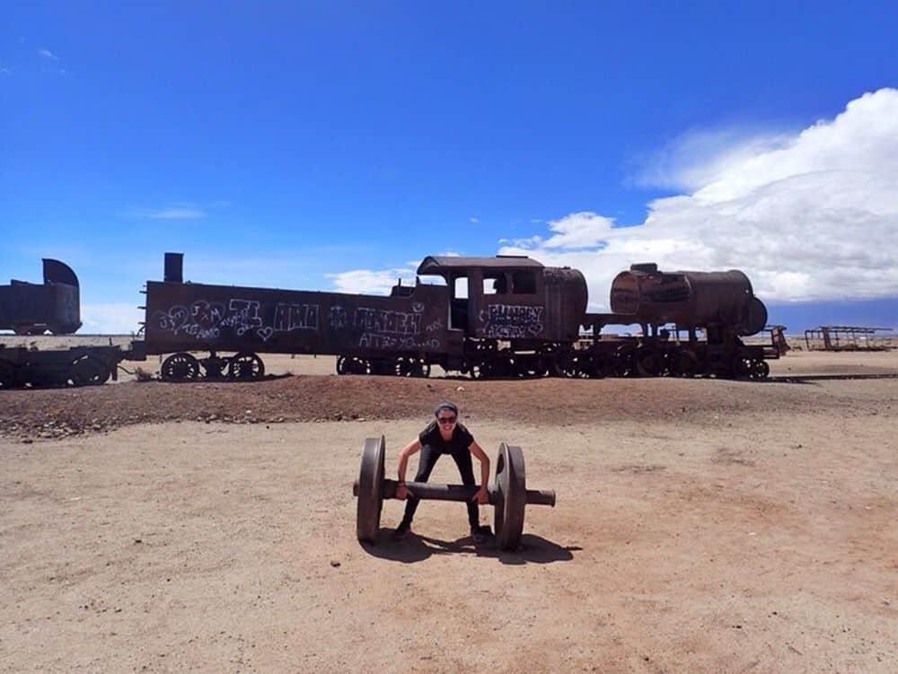 Sarah - Graveyard train