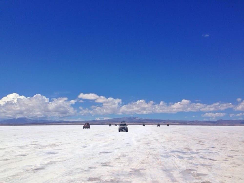 at Bolivian Salt Flats