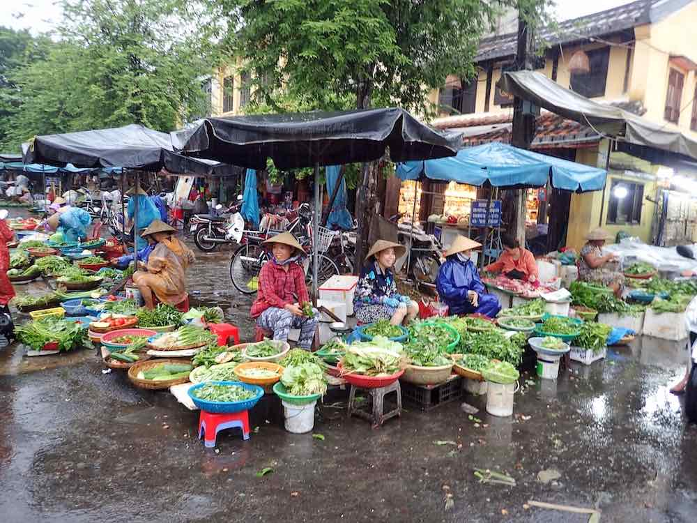 Rainy season in Vietnam
