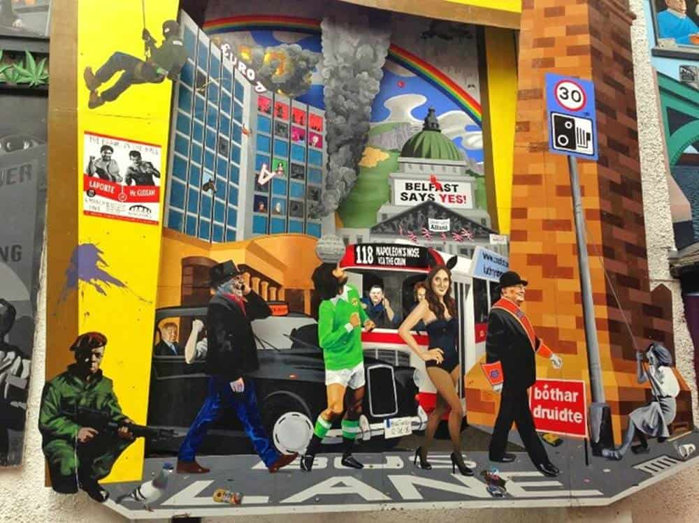 Mural tours in Belfast