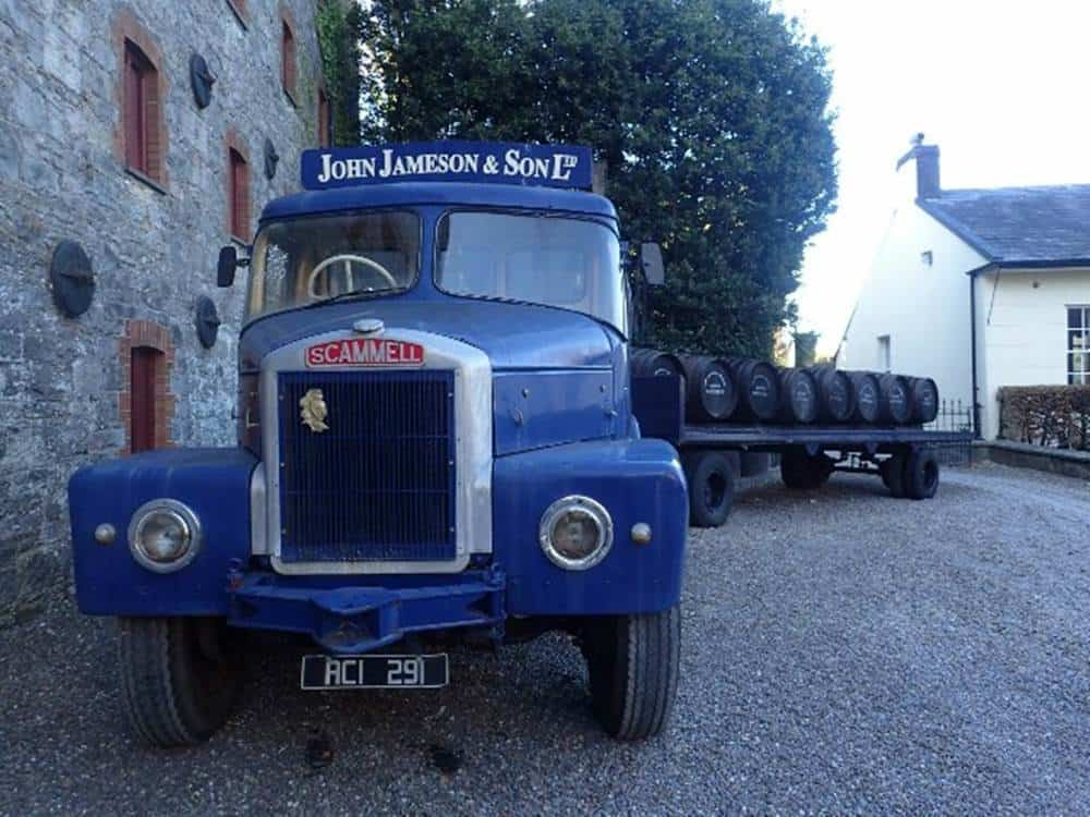 John Jameson and son Ltd - truck