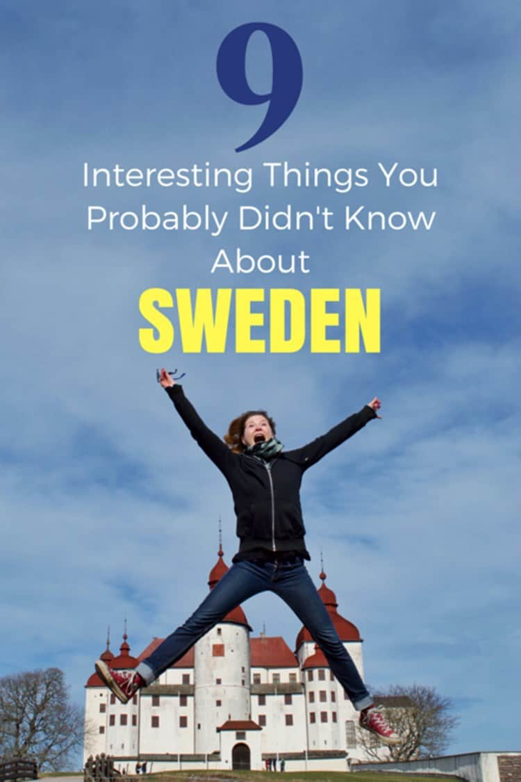 Sarah's jumpshot with text overlay 9 INTERESTING THINGS YOU PROBABLY DIDN'T KNOW ABOUT SWEDEN