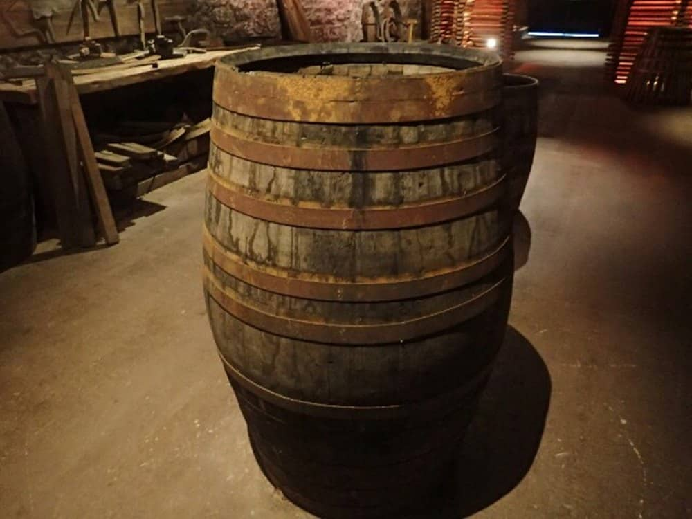barrel of whiskey