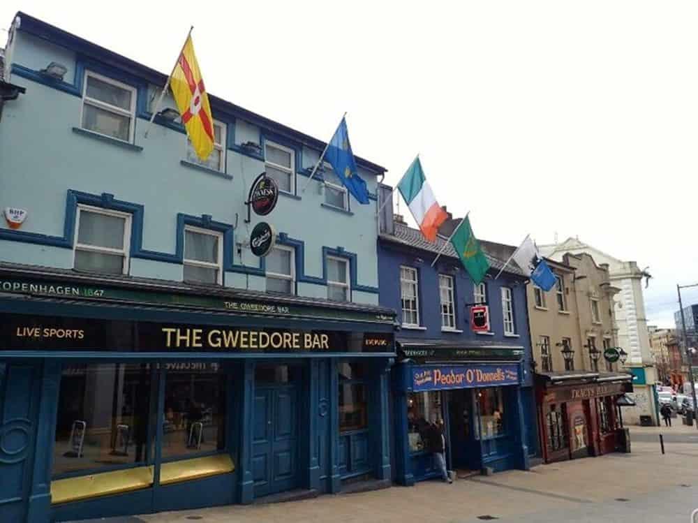 The Gweedore bar Derry Ireland