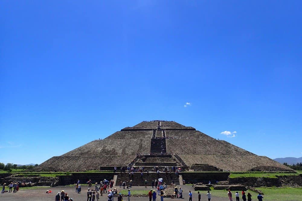 Teotihuacan Temple of the Sun
