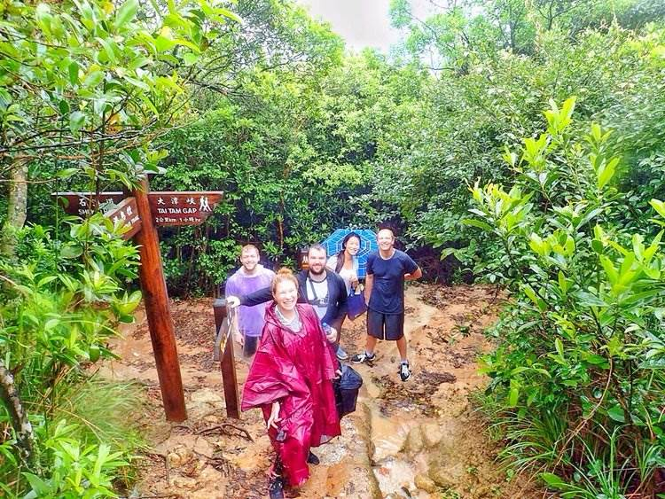 Best clothes for rainy season trekking in Hong Kong