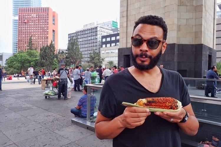 Street Food in Centro Historico Mexico City