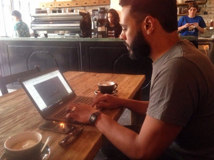 Digital Nomad Cafe in Roma Mexico City