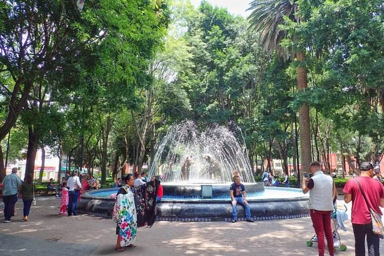 Coyoacan is best place to stay in Mexico City