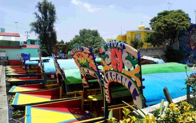 Xochimilco Floats
