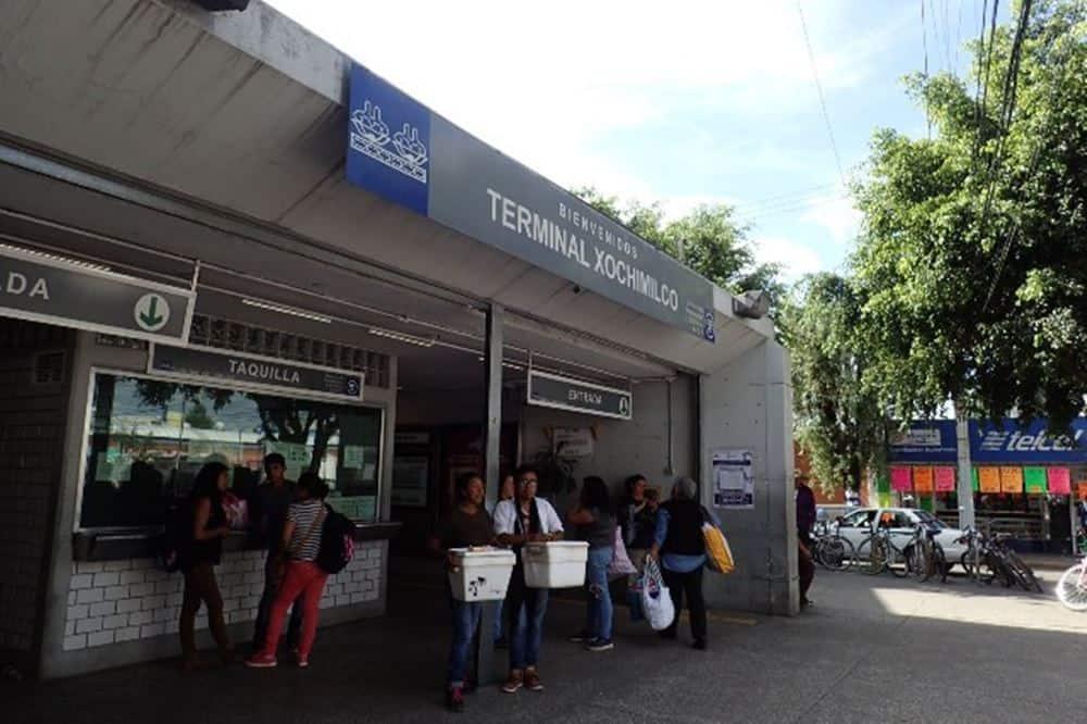 terminal of XOCHIMILCO