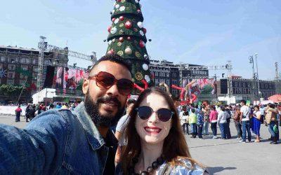 Christmas in Zocalo Mexico
