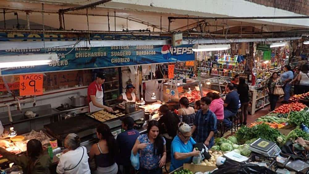 San Juan de Dios Market Guadalajara Mexico