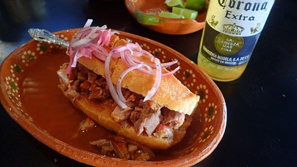 Tortas Ahogadas Guadalajara food