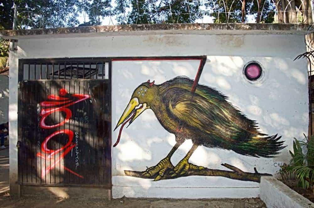 Bird - mural